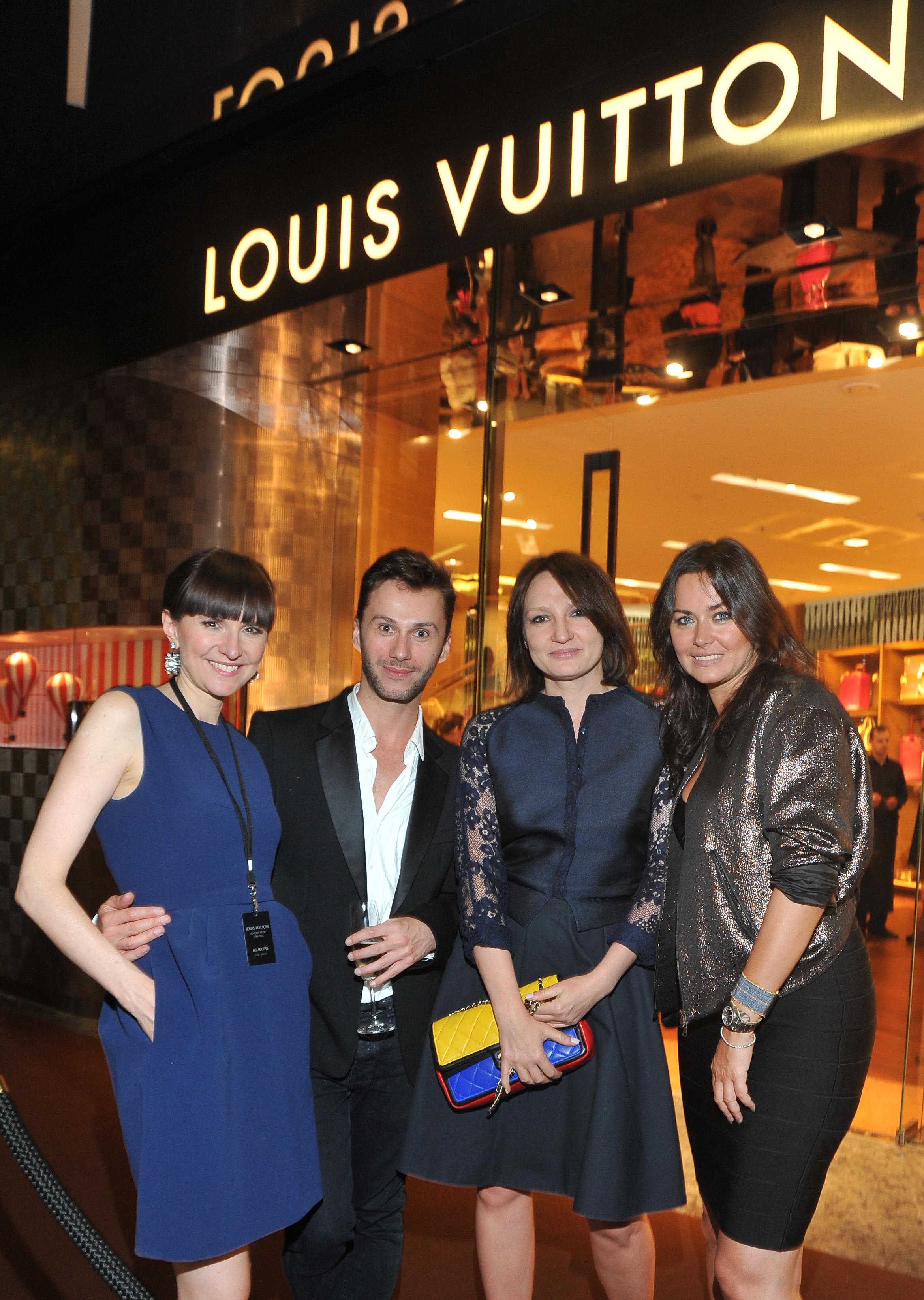 ; Louis Vuitton - otwarcie pierwszego sklepu w Polsce, dom handlowy Vitkac, Warszawa, 2013.06.13; fot. Dix / EPOKA